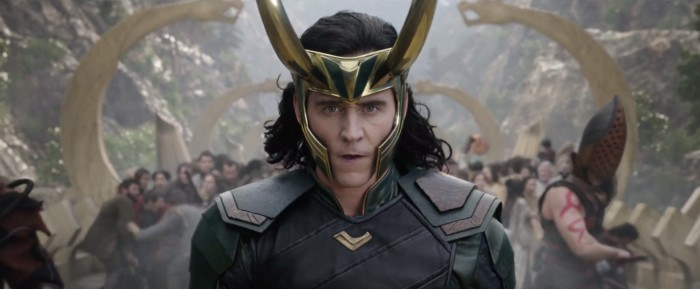 Tom Hiddleston as Loki in Thor 3