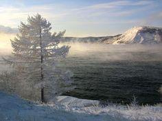Lake Baikal holds an incredible 20 percent of Earth's unfrozen fresh water