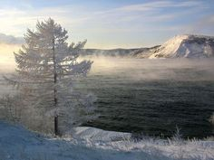 Lake Baikal holds an incredible 20 percent of Earth's unfrozen fresh water