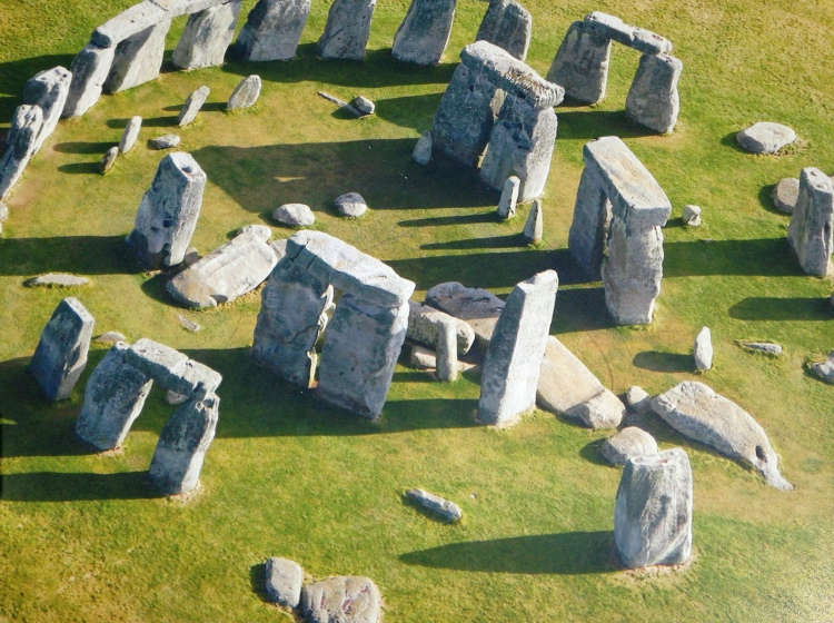 Stonehenge, bird's eye view