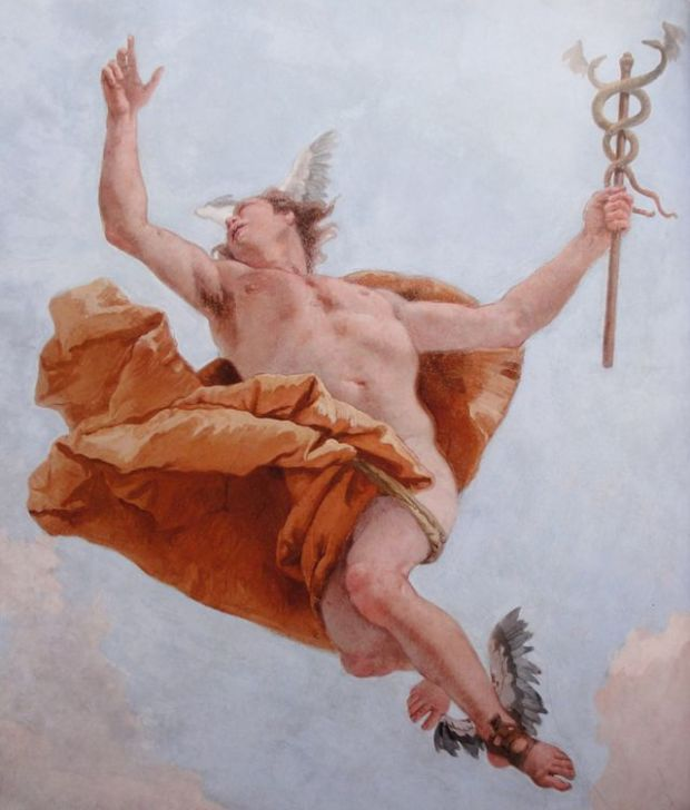Mercury/Hermes - the messenger god