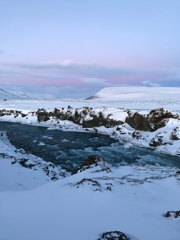 The area around Godafoss